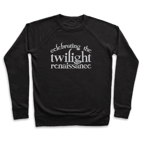 Celebrating The Twilight Renaissance Parody White Print Pullover