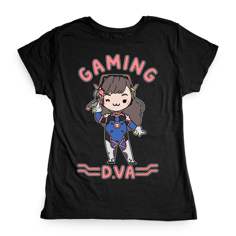 Gaming D.Va Womens T-Shirt