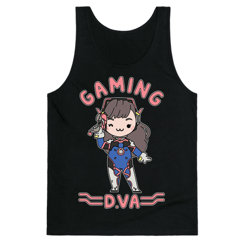 Gaming D.Va Tank Top