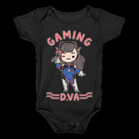 Gaming D.Va Baby Onesy