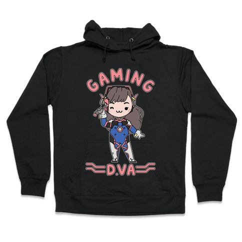 Gaming D.Va Hooded Sweatshirt