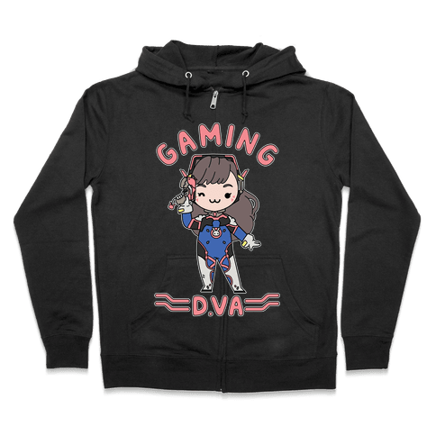 Gaming D.Va Zip Hoodie