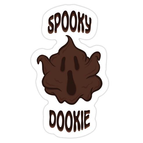 Spooky Dookie Die Cut Sticker