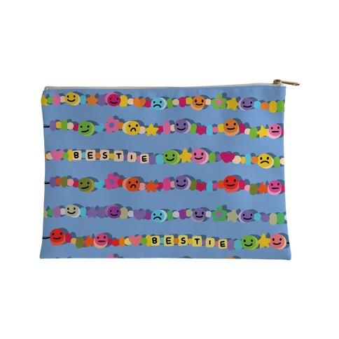 Bestie Friendship Bracelet Pattern Accessory Bag