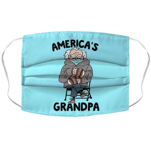 America's Grandpa Accordion Face Mask