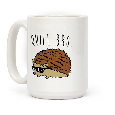 Quill Bro Coffee Mug
