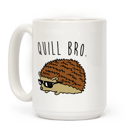 Quill Bro  Coffee Mug