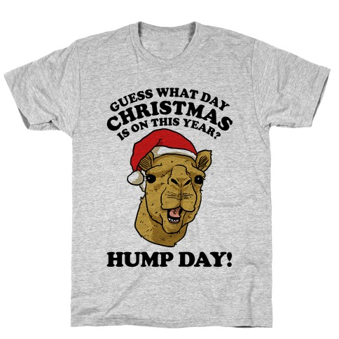 Guess What Day Christmas is on This Year? T-Shirt