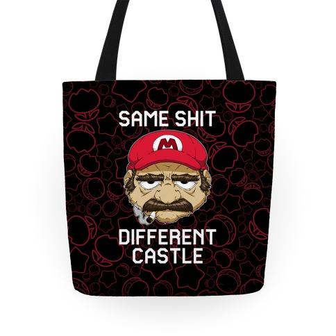 Same Shit Different Castle Tote