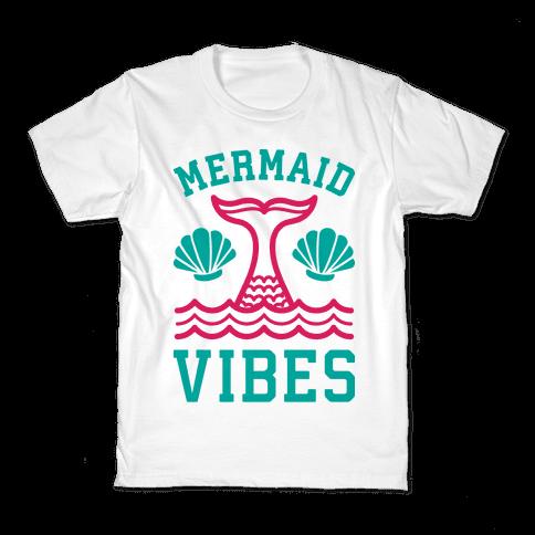 Mermaid Vibes Kids T-Shirt