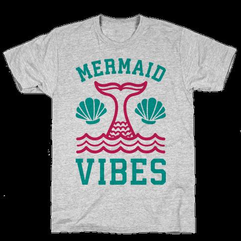 Mermaid Vibes Mens T-Shirt