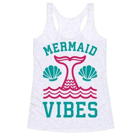 Mermaid Vibes Racerback Tank Top