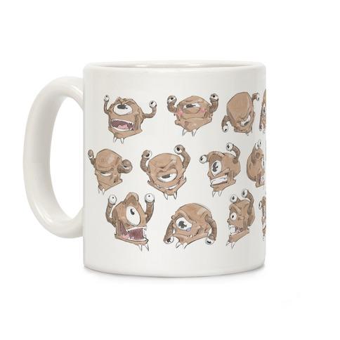 Beholder Expression Study Coffee Mug