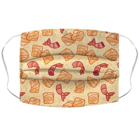 Cinnamon Shrimp Cereal Accordion Face Mask