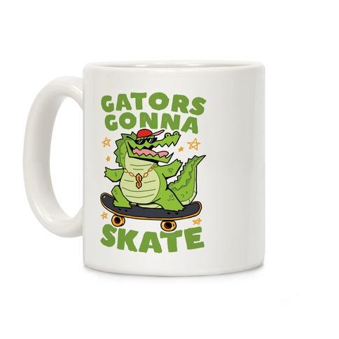 Gators Gonna Skate Coffee Mug