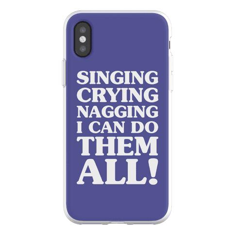 Singing Crying Nagging Phone Flexi-Case