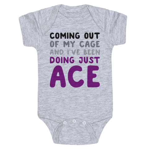 Coming Out Of My Cage - ACE Baby Onesy