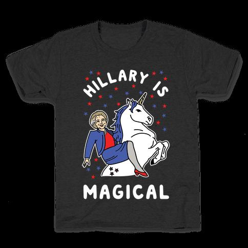 Hillary is Magical Alt Kids T-Shirt
