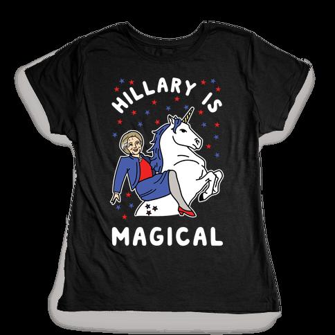 Hillary is Magical Alt Womens T-Shirt