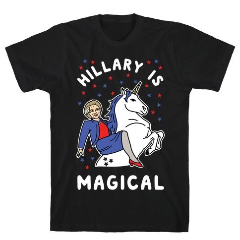Hillary is Magical Alt T-Shirt