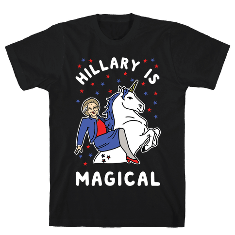 Hillary is Magical Alt Mens T-Shirt