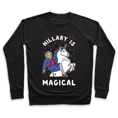 Hillary is Magical Alt Pullover