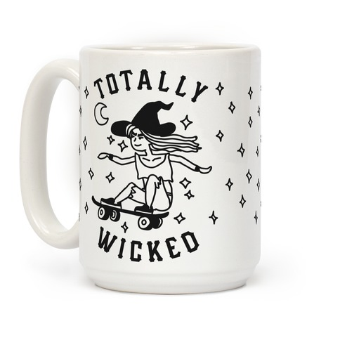 Totally Wicked Sk8r Witch Coffee Mug