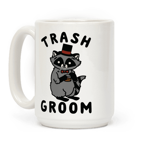Trash Groom Raccoon Bachelor Party Coffee Mug