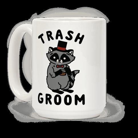 Trash Groom Raccoon Bachelor Party Coffee Mug