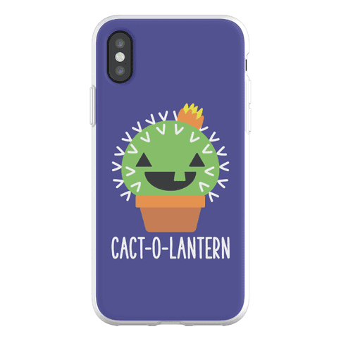 Cact-o-lantern Phone Flexi-Case