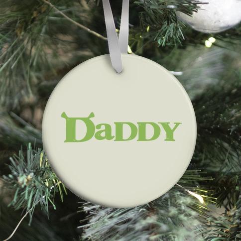 Daddy Ornament