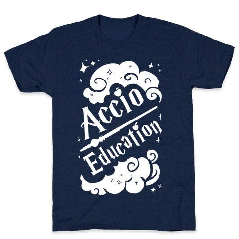 Accio Education! Mens T-Shirt