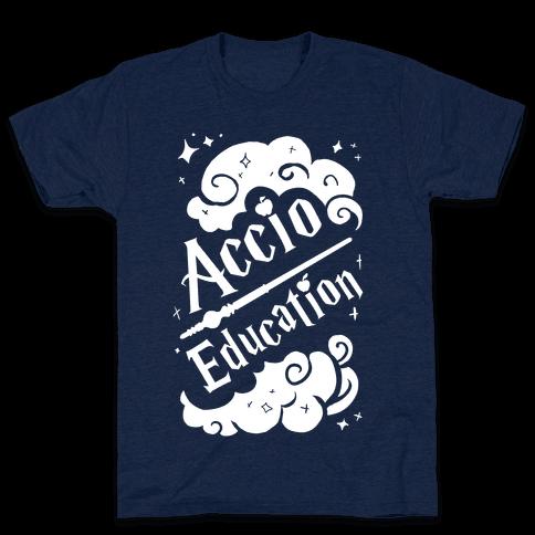 Accio Education! Mens T-Shirt