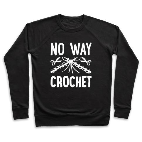 No Way Crochet Pullover