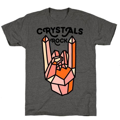 Crystals Rock T-Shirt