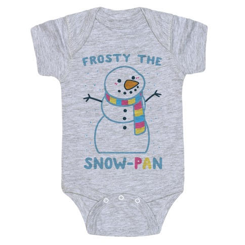 Frosty the Snow-Pan Baby Onesy