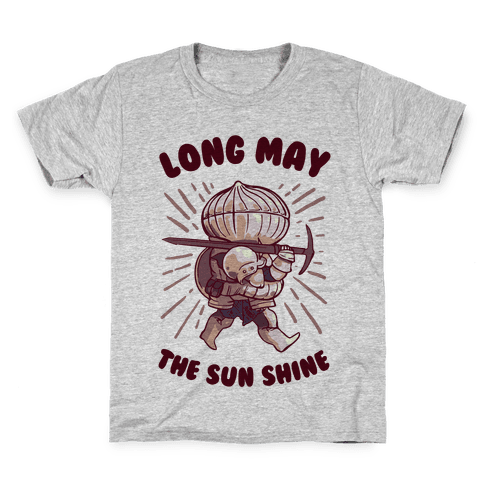 Siegward: Long May The Sun Shine Kids T-Shirt