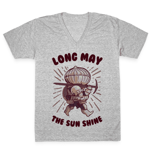Siegward: Long May The Sun Shine V-Neck Tee Shirt