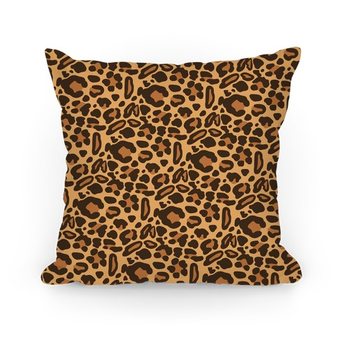 Leopard Print Pattern Pillow