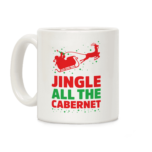 Jingle All the Cabernet Coffee Mug