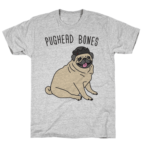 Pughead Bones Mens T-Shirt