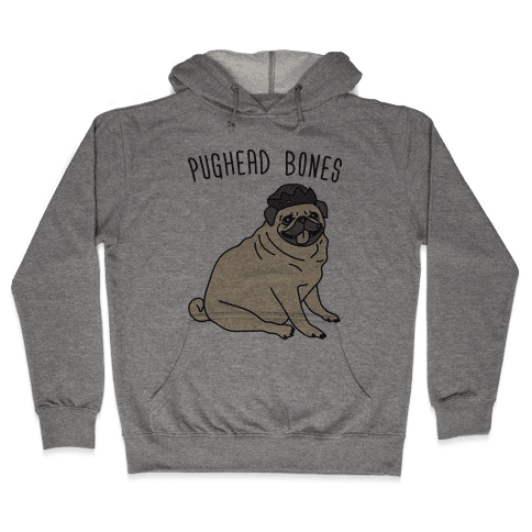 Pughead Bones Hooded Sweatshirt