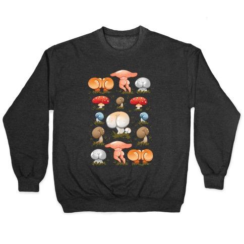 Butt Mushroom Pattern Pullover