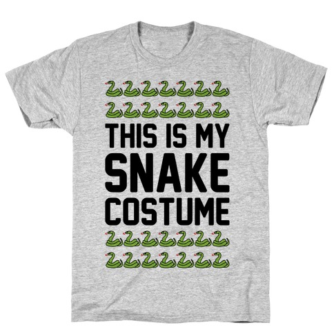 This Is My Snake Costume Mens T-Shirt