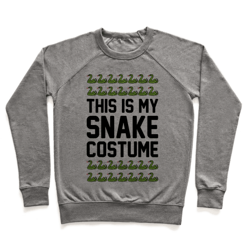 This Is My Snake Costume Pullover