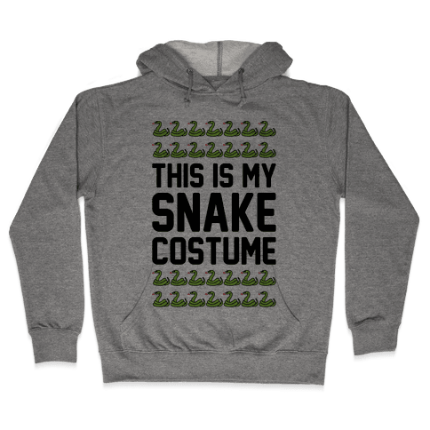 This Is My Snake Costume Hooded Sweatshirt