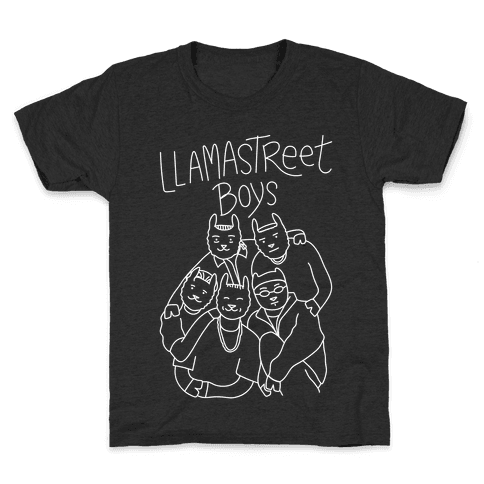 Llamastreet Boys Kids T-Shirt