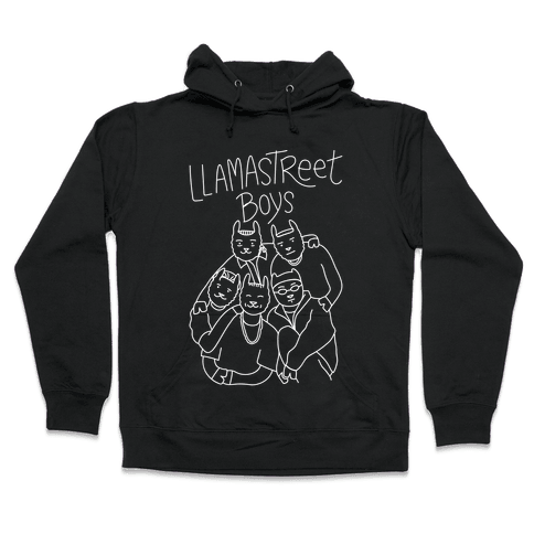 Llamastreet Boys Hooded Sweatshirt