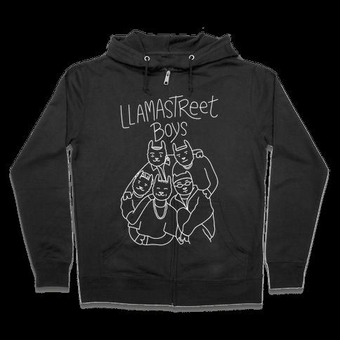 Llamastreet Boys Zip Hoodie