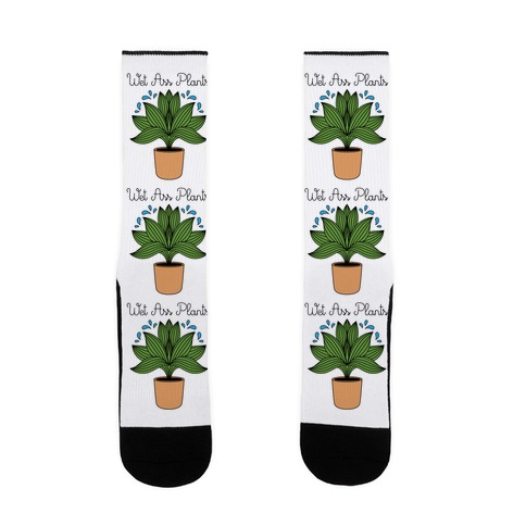 Wet Ass Plants WAP Parody Sock